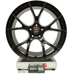 Project 6gr Ten 20x10/11 Satin Black Concave Wheels For S550 Mustang Gt Pp
