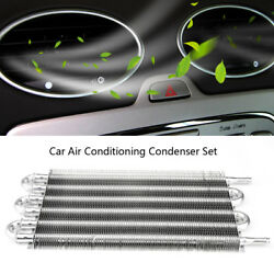 Universal Aluminum Car Auto Tube Type Air Conditioning Condenser Set Silver EL