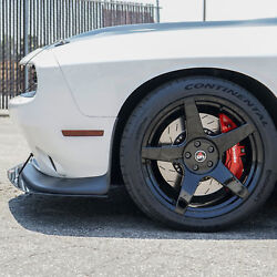Project 6gr5 Five 20x10 Gloss Black Concave Wheels For Dodge Challenger