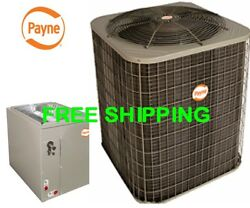 3.5 Ton R-410A 14SEER NEW AC Condensing Unit & Evaporator Coil Combination