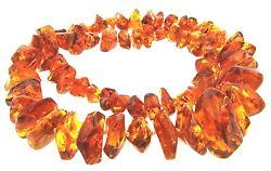 Gorgeous Latvian Strand Of Amber Necklace