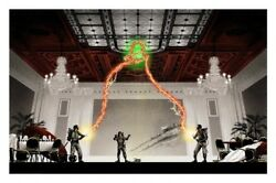 Mark Englert -andnbsp And039the Flowers Are Still Standing Posterand039 Ghostbusters- Signed And039d