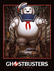 Mike Mitchell - Ghostbusters - Limited Edition Screen Print - Signed And039d