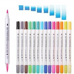 Watercolor Washable Dual Brush Markers Piece Chameleon Art Products Color Soft