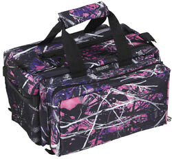 Muddy Girl Deluxe Range Bag Nylon Camouflage Bulldog Cases BD910MDG
