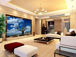3d White Cloud Old Tree 46 Wall Paper Wall Print Decal Wall Deco Indoor Mural
