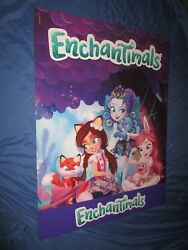 Toys R Us Exclusive Display Cardboard Sign/box 4and039 Tall X 3and039 Wide Enchantimals