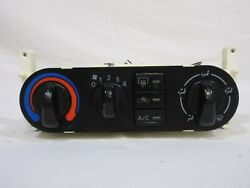 00-06 Nissan Sentra Climate Control w Heater and AC