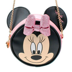 Disney Minnie Mouse Shoulder Messenger Chain Cross Body Bag for Girl Girlish Kid