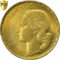 [482794] Coin, France, Guiraud, 50 Francs, 1954, Beaumont - Le Roger, Pcgs