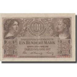 [573953] Banknote Germany 100 Mark 1918 1918-04-04 Kmr133 Unc63