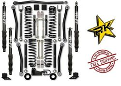 Rock Krawler 2.5 Adventure Series 3 W/ Shocks For And03907-and03918 Jeep Wrangler Jk 2 Dr