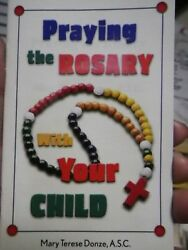 Praying The Rosary With Your Child Booklet Catholic Christian Easter Church New
