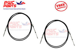 Yamaha Boat 2-pack Steering Cable Xr1800 Boat 002-201 + 27-3407 F0r-u1470-00-00