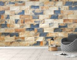 3d Marble Tile 4 Wall Paper Exclusive Mxy Wallpaper Mural Decal Indoor Wall Aj