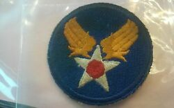 Vintage WW ll U.S. Army - Air ForceArmy AF? Patch Used Great Condition