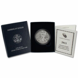 2011-W American Silver Eagle Uncirculated Collectors