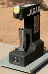 Louis Small 12b Rockwell Hardness Tester W/ 40, 50, 60kg Weights