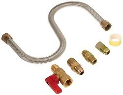 Mr Heater One Stop Universal Gas Appliance Hook Up Kit 18 Inch Flexible Gas Line
