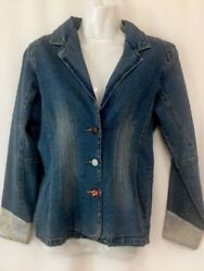 Mary Kate And Ashley Naturally Distressed Shirt Jacket Altered Boho Hippie Small