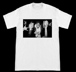 Chris Farley Kurt Cobain Nirvana 2pac Tupac Hanging Out Shirt
