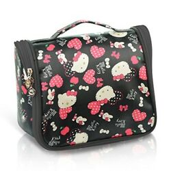 Best Toiletry Cosmetic Bag for Women Compact Cute Gym Makeup Teen Girls