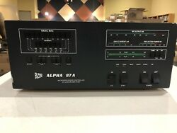 Alpha Power 87A HF Linear Amplifier