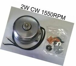 WR60X187 REFRIGERATOR CONDENSER FAN MOTOR REPLACEMENT 2W CW 1550RPM Affordable