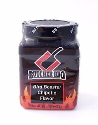 Butcher Bbq Barbecue Pitmasters Barbeque Bird Booster Chipotle Injection - 12 Oz