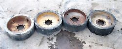 34 X 12.5 Solid Rubber Compact Loader Skid Steer Manlift Tires