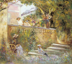 Lebasque Henri French 1865 1937 Artist Painting Oil Canvas Repro Wall Art Deco