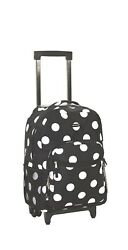 17'' Rolling Backpack Laptop Bag For Girls Teens School Travel Shoulder Bags Dot