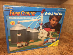 Nib Ertl Farm Country 73 Piece Set - Grain And Feed All Pieces Sealed And New