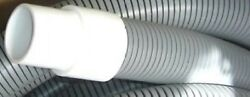 50and039 Vacuum Hose Gray 2 With Cuffs Carpet Cleaning Tuflexx