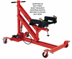 Norco Usa Made 1250 Lbs Air Hydraulic Mobile Adjustable Powertrain Jack Lift