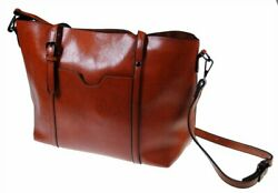 The Kyra Collection Womens Satchel Purse Shoulder Tote Bag Brown $15.95