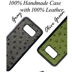 For Galaxy Note 9 & 8  UC Ostrich Pattern Leather Cell Phone Back Cover Case