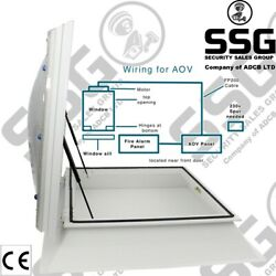 Access Hatch Roof Light Upstand Opening Dome Skylight Window Flat Roofs Aov Vent