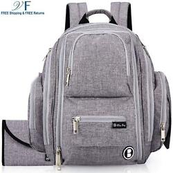 Diaper Bag Backpack by Bliss Bag for Babies Girls Boys Twins Moms  Dads. In