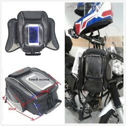 Waterproof 10.5L Oil Fuel Tank Nylon Motorcycle Travel Luggage Tail Saddle Bag