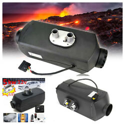 1X12V 5000W Air Diesels Fuel Heater10L Tank With Control Switch And Silencer Kit