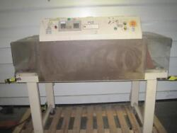 ALINE SYSTEMS CORP HEATED CONVEYOR 2428T HEAT TUNNEL SEALER PACKING MACHINE