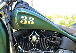 Harley Davidson Softail Stretched Gas Tank Kit Speed By Design
