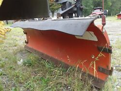 Western Ultra Mount 8 Ft. Hydraulics Front Part Only Snow Plow Snowplow 9