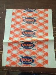 Vintage 1930's Sliced Energee Bread For Vitality Wax Wrapper