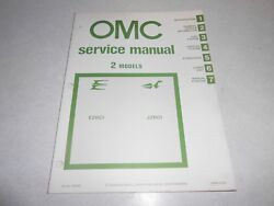 1981 2 Hp Genuine Evinrude Johnson Outboard Repair And Service Manual 2hp