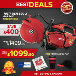 Hilti Dsh 600-x Gas Saw With One 12 Universal Blade New Fast Shipping