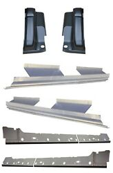 2009-2014 Ford F-150 Crew Cab Inner And Outer Rocker Panels And Cab Corners 6pc