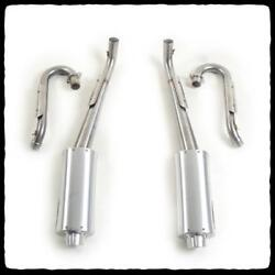 Barkers Dual Step Pipe Full Exhaust For Big Bore Raptor 700 2006-14 7aye-700dl
