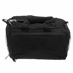 Bulldog Cases BD910 Black Range Bag Shooting Range Bags & Cases Deluxe wStrap